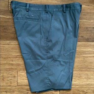 NIKE GOLF Dri-FIT Men's Gray Shorts sz 34